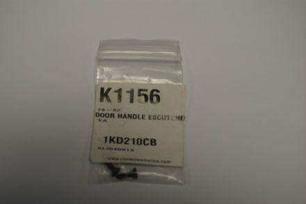 Door Handle Escutcheon Screws,CA K1156,New